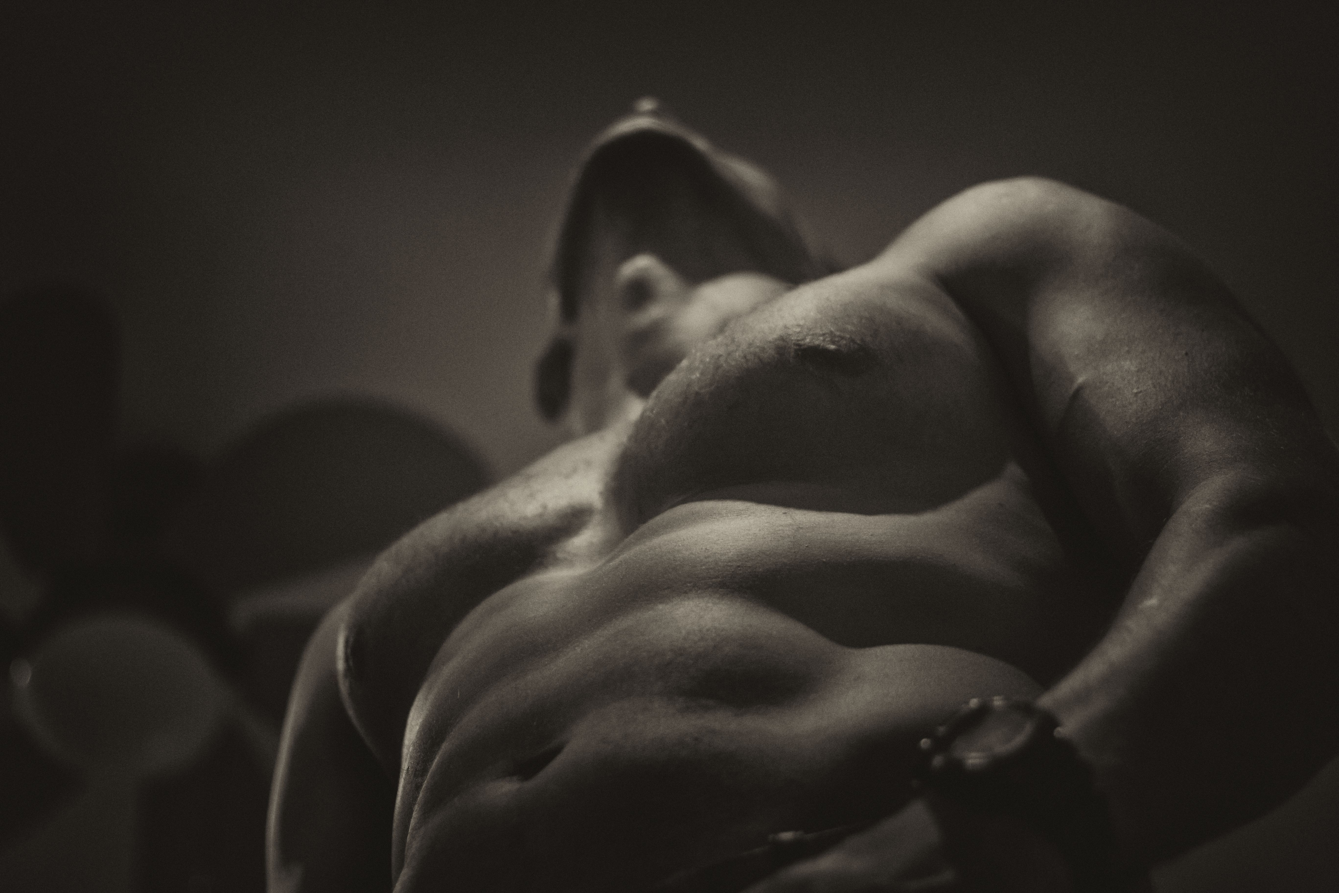 Relax in the Masculine energies of a male to male massage