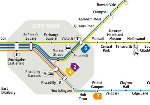 Manchester Zone 1